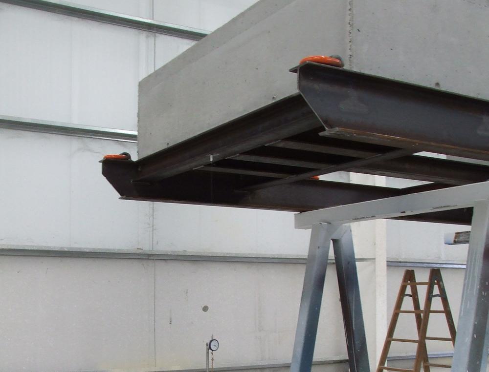 Ensayos de carga de skid metálicos - Proinsener Energía