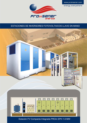 Estación FV Compacta Integrada PROin EPH 1.6 MW - Proinsener Energía